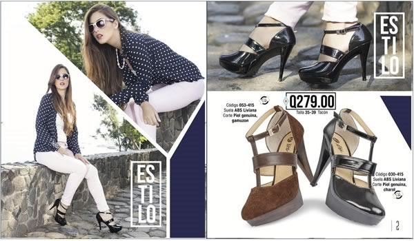 catalogo rikeli zapatos de mujer julio agosto 2015 guatemala - 01
