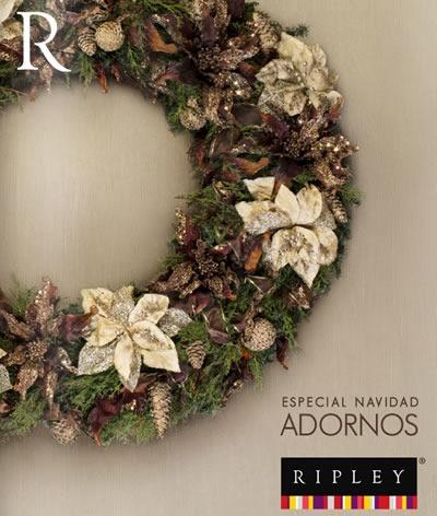 catalogo ripley adornos navidad 2013 noviembre