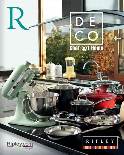 catalogo ripley deco chef at home septiembre 2014 chile