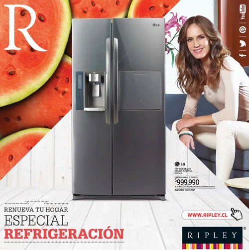 catalogo ripley enero 2014 especial refrigeracion chile