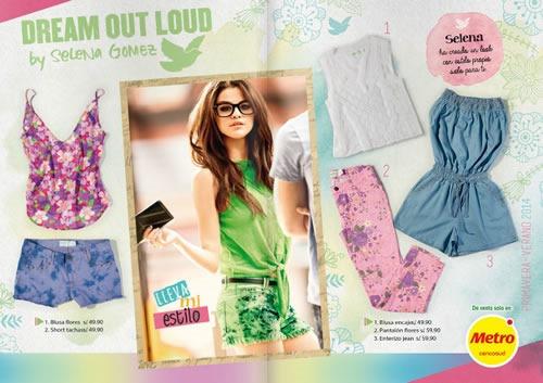 Catálogo De Ropa Dream Out Loud De Selena Gomez