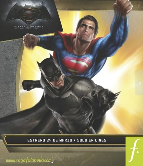 catalogo saga falabella batman vs superman