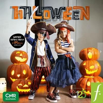 catalogo saga falabella disfraces halloween 2014