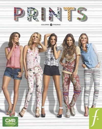 catalogo saga falabella moda prints 2013 peru