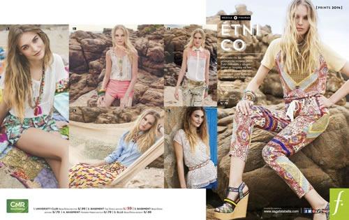 saga falabella cat logo de moda y tendencias prints 2013