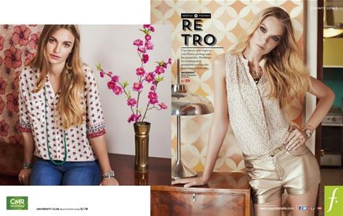 catalogo saga falabella moda prints 2013 peru retro print