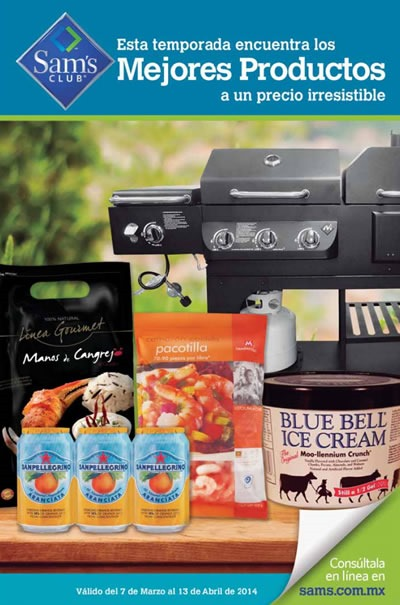 catalogo sams club 2014 marzo abril