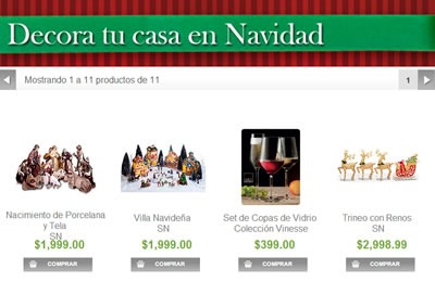 Cat logo sams club navidad 2013 m xico for Decora tu casa online