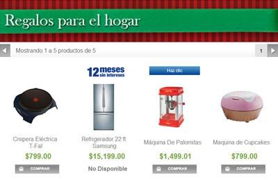 catalogo sams club navidad 2013 - regalos para el hogar
