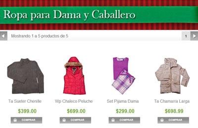 catalogo sams club navidad 2013 - ropa para dama y caballero