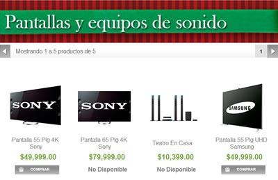 catalogo sams club navidad 2013 - tecnologia 4k uhd