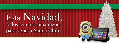 catalogo sams club navidad 2013