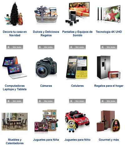 catalogo sams club navidad 2013 categorias