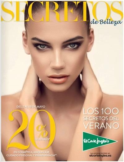 catalogo secretos de belleza el corte ingles mayo 2014