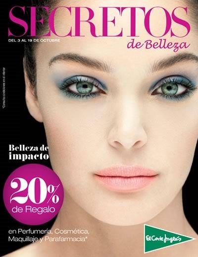 catalogo secretos de belleza el corte ingles octubre 2014