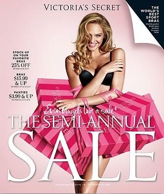 catalogo semi-annual sale victorias secret 2014
