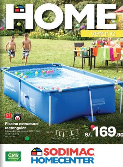 Cat logo sodimac homecenter enero 2014 per for Ofertas piscinas desmontables rectangulares