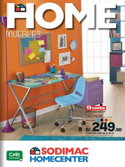 Sodimac homecenter cat logo de marzo 2014 for Muebles peru catalogo