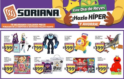 catalogo soriana dia de reyes 2014
