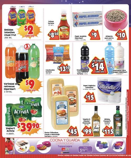 catalogo soriana express 22 28 noviembre 2013 1