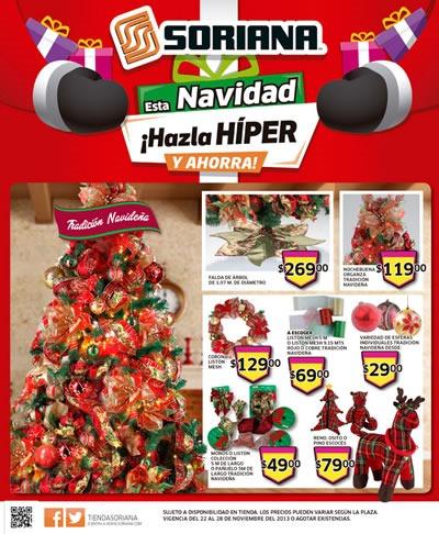 catalogo soriana hiper 22 28 noviembre 2013
