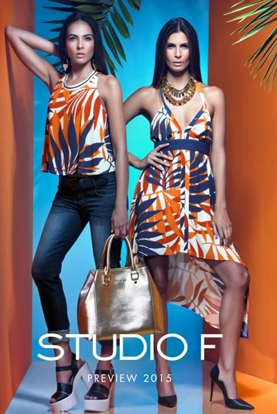 catalogo studio f preview 2015 moda primavera verano