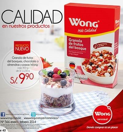 catalogo supermercado wong febrero 2014