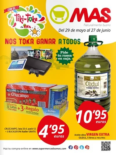 catalogo supermercados mas junio 2014