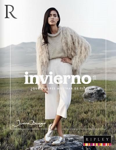 catalogo tendencias de moda invierno 2015 ripley peru