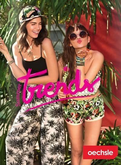 catalogo tendencias de moda primavera verano 2014 oechsle