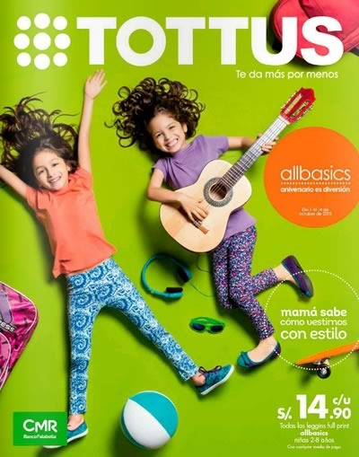 catalogo tottus allbasics octubre 2015