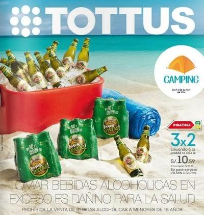 catalogo tottus camping abril 2014