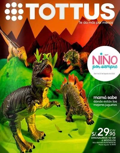 catalogo tottus dia del nino agosto 2014 peru