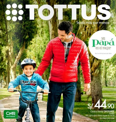 catalogo tottus dia del padre 2014