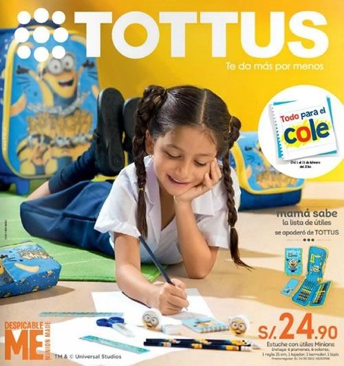 catalogo tottus escolar febrero 2016