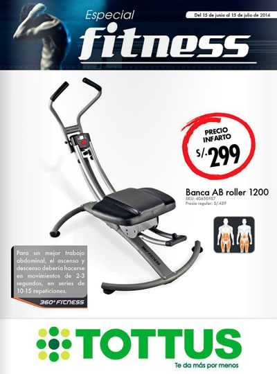 catalogo tottus fitness junio julio 2014
