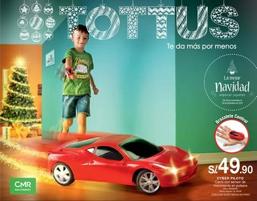 catalogo tottus juguetes navidad 2015