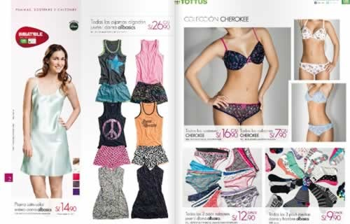 catalogo tottus lenceria noviembre 2013 1
