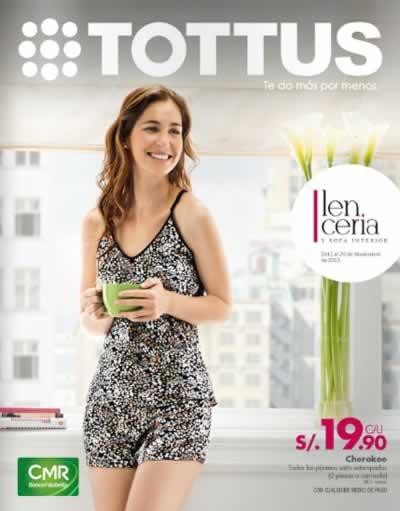 catalogo tottus lenceria noviembre 2013