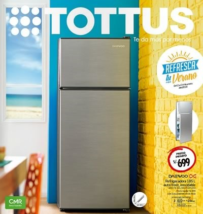 catalogo tottus ofertas hasta 14 enero 2016