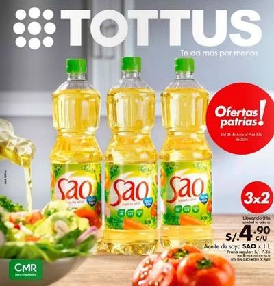 catalogo tottus ofertas patrias al 9 julio 2014