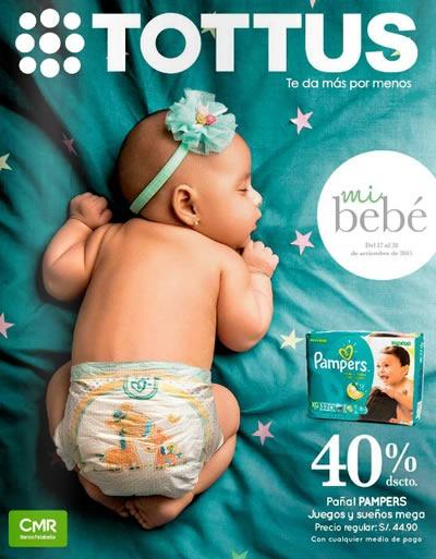 catalogo tottus productos para bebes septiembre 2015