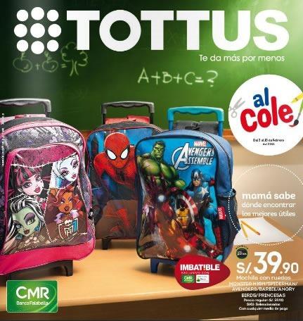 catalogo tottus utiles escolares 2014