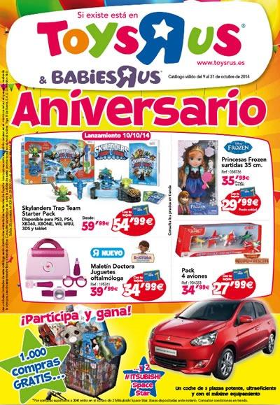 catalogo toys r us aniversario octubre 2014
