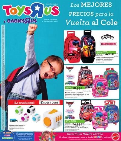 catalogo toys r us espana vuelta al cole 2017