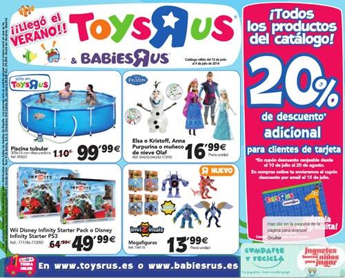 catalogo toys r us junio julio 2014 espana