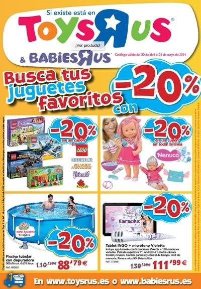 catalogo toys r us mayo 2014 espana