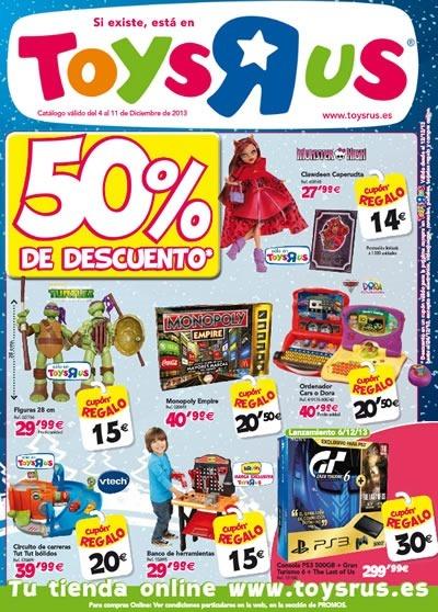 catalogo toys r us ofertas diciembre 2013
