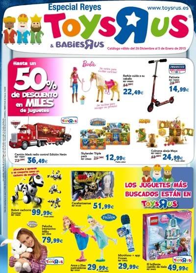 catalogo toysrus especial reyes diciembre 2014 enero 2015
