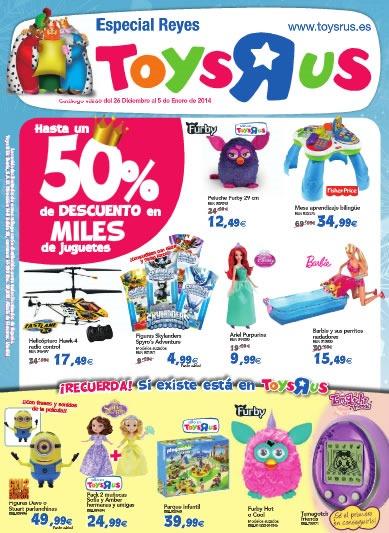 catalogo toysrus especial reyes diciembre enero 2014
